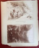 SOCIETE DES GRIMPEURS DES ALPES MENU HOTEL COLIN VILLARD NOTRE-DAME OISANS TORRENT ROCHAIL 5 PHOTOGRAPHIES ANCIENNES - Francia