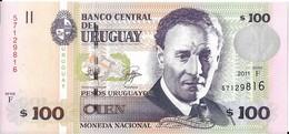 Uruguay - 100 Pesos 2011 - Série F - N° 57129816 - Neuf - Non Circulé - - Uruguay
