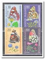Bulgarije 1998, Postfris MNH, Butterflies, Flowers - Bulgarije