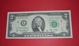 """United States 2 Dollar 2009 UNC P New  """"L"""" California / San Francisco - UNC - NEUF - FDS - Biljetten Van De  Federal Reserve (1928-...)"""