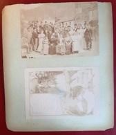 SOCIETE DES GRIMPEURS DES ALPES MENU BANQUET 1896 DE PREMOL AU LAC LUITEL 4 PHOTOGRAPHIES ANCIENNES 38 ISERE - Francia