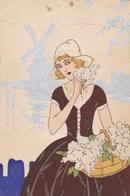 Fille Hollandaise, Moulin, Windmill, Molen (pk60275) - 1900-1949