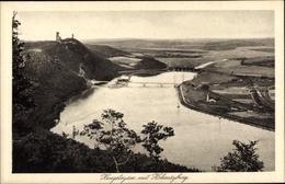 Cp Syburg Dortmund Nordrhein Westfalen, Hengsteysee M. Hohensyburg, Uferpanorama - Deutschland