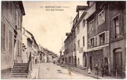 25 MONTBELIARD - Rue Des Granges - Montbéliard