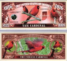 USA - FANTASY NOTE -  INDIANA , THE  INDIANA  CARDINAL  - UNC - Other
