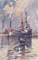 Harry Heusser, Triest, Lieienschiff Sardengo, Italien (pk60280) - Peintures & Tableaux
