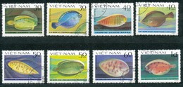 VIETNAM - Mi.Nr.   1272  -  1279    Gestempelt    Plattfische - Vietnam