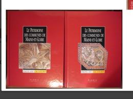 Maine Et Loire Lot De 2 Livres Encyclopédies Du Maine Et Loire 49 Angers Cantons Communes Du Département - Encyclopaedia