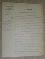Rapport Vicinal De L'hérault - 1931 - Béziers - Bédarieux Lamalou Les Bains Abatage De Platane - France