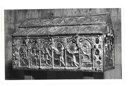 Tematica  Genova Museo Del Tesoro Di San Lorenzo Arca Del Barbarossa Non Viaggiata Condizioni Come Da Scansione - Belle-Arti