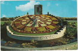 Ontario's Hydro's Floral Clock - Queenston And Niagara Falls - 1.130 Square Feet -  (Ontario, Canada) - Niagara Falls