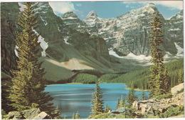 Moraine Lake -  (Alberta, Canada) - 1964 - Banff