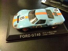 FORD GT 40 24 H Le Mans 1969 J. Ickx - J. Oliver - Carros