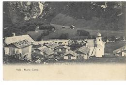 VALS: Dörfchen Maria Camp ~1910 - GR Grisons