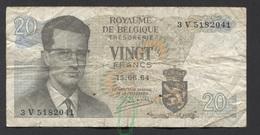 België Belgique Belgium 15 06 1964 -  20 Francs Atomium Baudouin. 3 V 5182041 - [ 6] Treasury