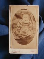Photo CDV G. Cardinal à Vannes - Bébé, Circa 1885 L441 - Old (before 1900)