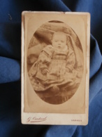 Photo CDV G. Cardinal à Vannes - Bébé, Circa 1885 L441 - Photos