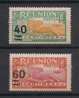 Réunion - 1922-27 - N°Yv. 97 Et 98 - 40 Sur 20c / 60 Sur 75c - Neuf Luxe ** / MNH / Postfrisch - Neufs