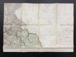 Topografische En Militaire Kaart STAFKAART 1906 Limbourg Hestreux Brandehaeg Eupen Jalhay Montzen Moresnet Welkenraedt - Cartes Topographiques