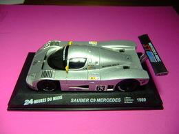 SAUBER C9 MERCEDES  24 H Le Mans 1989 J. Mass - S. Dicktens - M. Reuter - Carros