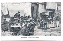 Cartolina-Postcard / Non Viaggiata - Not Sent / Napoli-Naples - Costumi Di Napoli - Santa Lucia - Napoli (Naples)