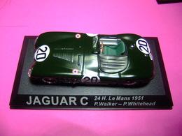 JAGUAR C  24 H Le Mans 1951 P. Walker - P. Whitehead - Carros