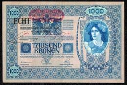 1000 AUTRICHE HONGRIE 1902 ECHT - Austria