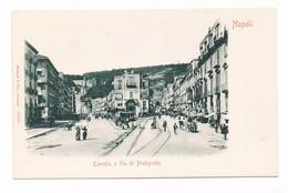 Cartolina-Postcard / Non Viaggiata - Not Sent / Napoli-Naples - Torretta E Via Piedigrotta - Napoli (Naples)