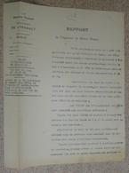 Rapport Vicinal De L'hérault - 1920 - Bédarieux -  Demande Autorisation De Bal - France