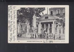 Cuba PPC Columbus Temple Havana 1904 - Postcards