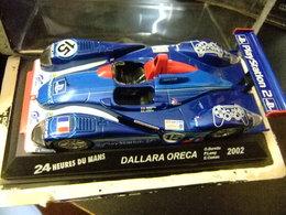 DALLARA ORECA  24 H Le Mans 2002 O. Berreta - P. Lamy - E. Comas - Carros