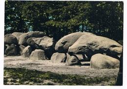 HUN-9   BORGER : DOLMEN, Hunnebed, Menhir - Dolmen & Menhirs