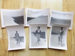 33 DUNE DU PYLA 1949  ARCACHON 6 PHOTOGRAPHIES - Arcachon
