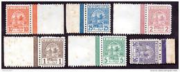 Maroc Postes Chérifiennes N°9/14 N** TTB Cote 60 Euros !!! RARE - Morocco (1891-1956)