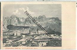 Schlernhaus Der Sektion Bozen Des Deutsch-Österreichischen Alpenvereins - Verlag F. Largajolli Bozen - Italia