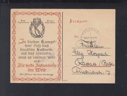 Dt. Reich Feldpost 1943 Die Beste Infanterie Der Welt - Germany