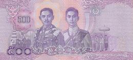 THAILAND P. 138 500 B 2018 UNC - Tailandia