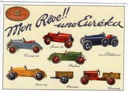 Jouets EUREKA  -  Mon Reve!!   -  Publicite D'epoque  -   Centenaire Editions CPM - Turismo