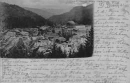 ST BLASIEN GERMANYPANORAMIC VIEW~HOMMLER & JONAS 1901 PHOTO  POSTCARD 40498 - Germany