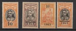 Océanie - 1916-21 - N°Yv. 43 à 46 - Complet - 4 Valeurs - Neuf * / MH VF - Neufs