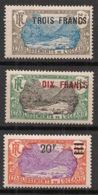 Océanie - 1926-27 - N°Yv. 66 à 68 - Série Complète - Neuf * / MH VF - Neufs