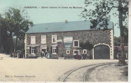 Jemeppe - Hôtel Colson Et Route De Marloie - Carte Couleur - Edit. L. Duparque, Florenville - Hotels & Restaurants