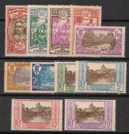 Océanie - 1927-30 - N°Yv. 69 à 79 - Série Complète - Neuf Luxe ** / MNH / Postfrisch - Océanie (Établissement De L') (1892-1958)