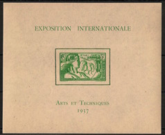 Océanie - 1937 - Bloc Feuillet BF N°Yv. 1 - Exposition Internationale - Neuf Luxe ** / MNH / Postfrisch - Oceania (1892-1958)