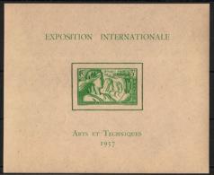 Océanie - 1937 - Bloc Feuillet BF N°Yv. 1 - Exposition Internationale - Neuf Luxe ** / MNH / Postfrisch - Oceanië (1892-1958)