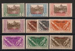 Océanie - 1941 - N°Yv. 140 à 149 - Série Complète FRANCE LIBRE - Neuf Luxe ** / MNH / Postfrisch - Oceania (1892-1958)