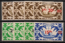 Océanie - 1945 - N°Yv. 172 à 179 - Série Complète - Neuf Luxe ** / MNH / Postfrisch - Oceania (1892-1958)