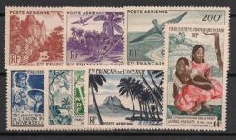 Océanie - 1948-55 - Poste Aérienne PA N°Yv. 26 à 32 - Complet - 7v - Neuf Luxe ** / MNH / Postfrisch - Oceanië (1892-1958)