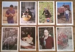 Lot De 8 Cartes Postales / Collection MILLE ET UN TRAVAUX DE L'HOMME  /b - Paysans