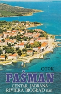 Pasman Island Riviera Biograd Croatia Old Guide Depliant - Dépliants Touristiques